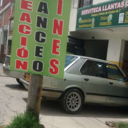 Servitecas Llantas Car en Bogotá