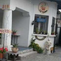 Café Mendialuna en Santiago