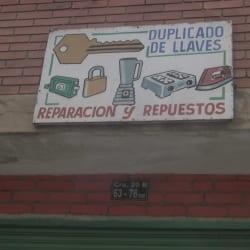 Duplicado De Llaves en Bogotá