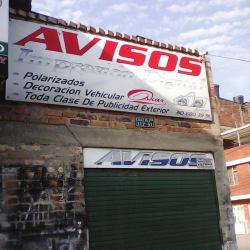Avisos Calle 16J Bis en Bogotá