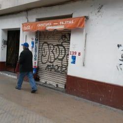 Cafeteria - Fajitas en Santiago