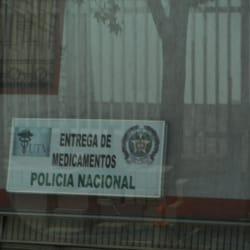 Entrega de medicamentos Policia Nacional en Bogotá