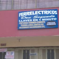 Ferrelectricos Don Segundo en Bogotá