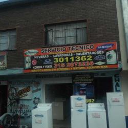 Servicio Tecnico Samsung en Bogotá