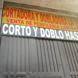 Cortadora y Dobladora La Solucion en Bogotá