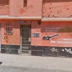 Sala de Ensayo - Estudio de Grabación Carmen en Santiago