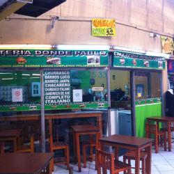 Cafetería Donde Pablo en Santiago