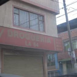 Drogueria La 64 en Bogotá