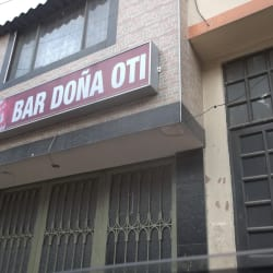 Bar Doña Oti en Bogotá