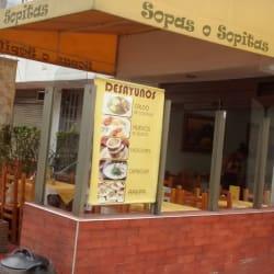 Sopas o Sopitas en Bogotá