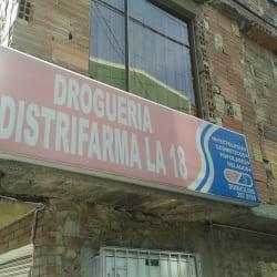 Droguería Distrifarma la 18 en Bogotá