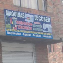 Maquinas de Coser Servicio Técnico  en Bogotá