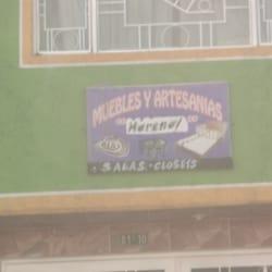 Muebles y Artesanias Moreno en Bogotá
