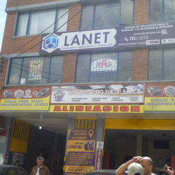 lanet  en Bogotá