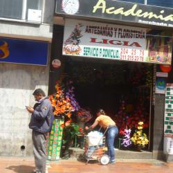 Artesanías y Floristería Ligia en Bogotá