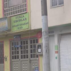Feria Escolar Carrera 128 en Bogotá