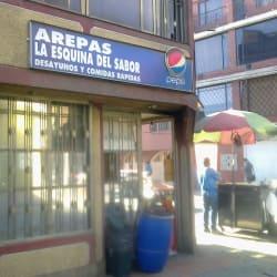 Arepas La Esquina del Sabor en Bogotá