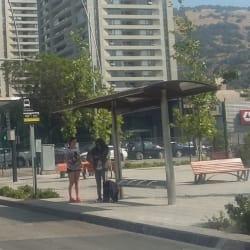 Paradero Transantiago PC245 en Santiago