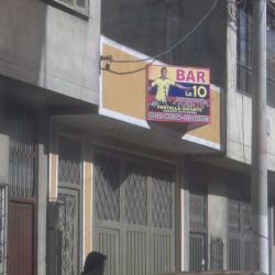 Bar La 10 en Bogotá
