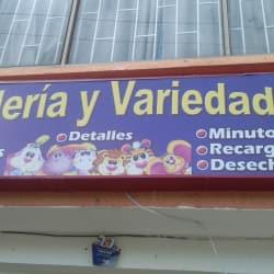 Papelería y Variedades Calle 87A en Bogotá