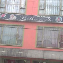 Pastelería y Panadería Ballonnette  en Bogotá