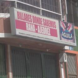 Billares Donde Sabemos en Bogotá