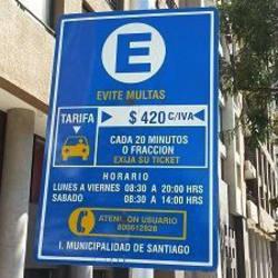 Estacionamientos Santiago - Estación 12 en Santiago