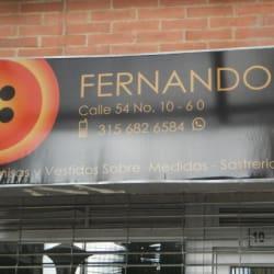 Fernando Calle 54 en Bogotá