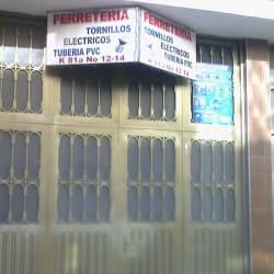 Ferretería en la 81A  en Bogotá