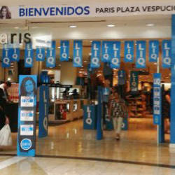 Paris -  Mall Plaza Vespucio  en Santiago