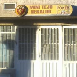 Mini Tejo Heraldo en Bogotá