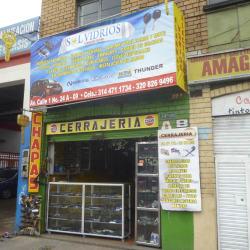 Sol Vidrios Hermanos Gaitan en Bogotá