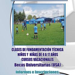 Escuela de Fútbol Alejandro Brand en Bogotá