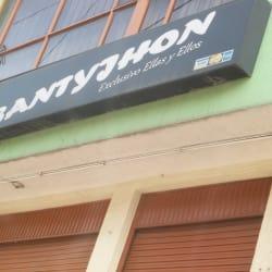 Santyjhon en Bogotá