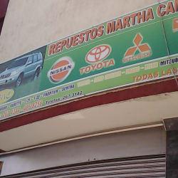 Repuestos Martha Camperos  en Bogotá
