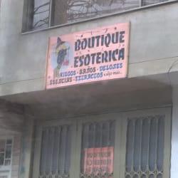 Boutique Esoterica en Bogotá