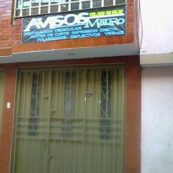 Avisos Mauro en Bogotá