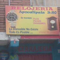 Relojeria Apocalisis 3:20 en Bogotá