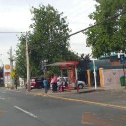 Paradero Transantiago PC128 en Santiago