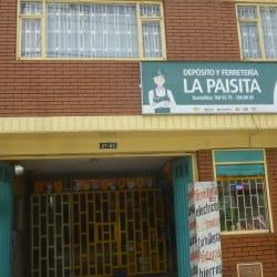 Deposito Ferreteria La Paisita en Bogotá