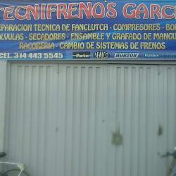 Tecnifrenos Garcia en Bogotá