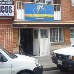 Bicicletas Carrera 8B en Bogotá