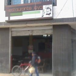 Restaurante Joya en Bogotá