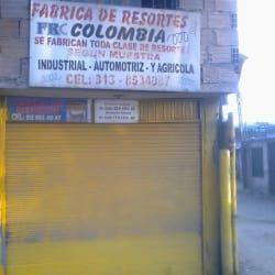 Fabrica De Resortes Colombia en Bogotá