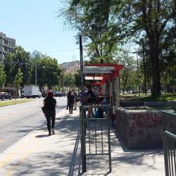 Paradero Transantiago PC1064 en Santiago