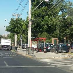 Paradero Transantiago PC421 en Santiago