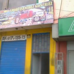 Amortiguadores Gonzalez en Bogotá