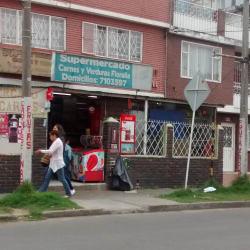 Supermercado Carnes y Verduras Floralia en Bogotá