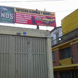 Tapiceria Alarmas y Radios A&F en Bogotá
