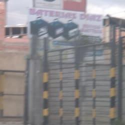 Baterias Diaz en Bogotá